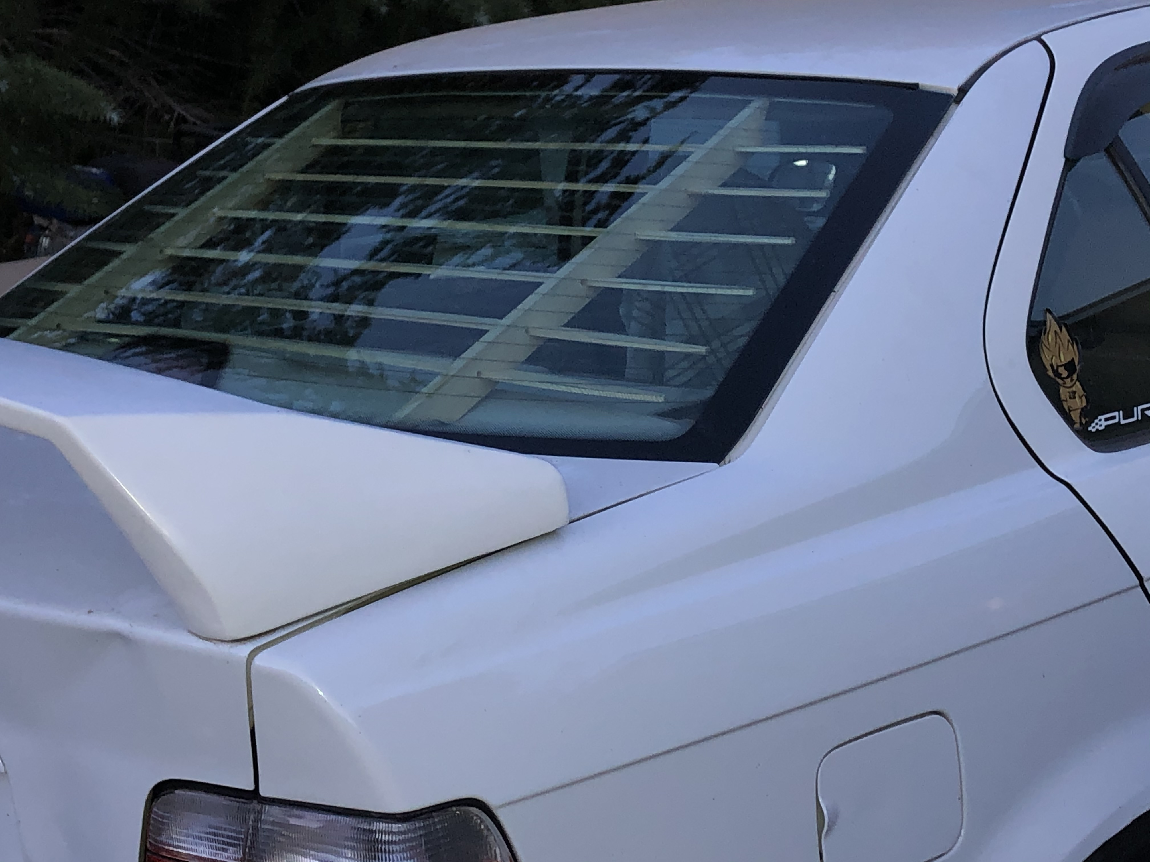 Catuned Interior Sun Blinds Wood For E36 Sedan 4 Door