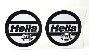Hella Headlight Covers - Decals